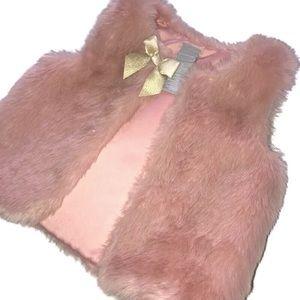 Tahari Faux Fur Vest
